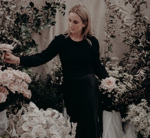 Elyza Bowe, Ivy Lane Collective - specialising in wedding and events floristry